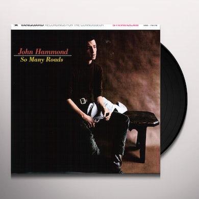 John Hammond SO MANY ROADS Vinyl Record