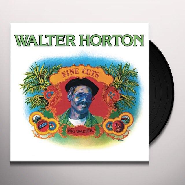 Walter Horton FINE CUTS Vinyl Record