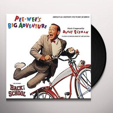 DANNY ELFMAN PEE-WEE'S BIG ADVENTURE (SCORE) / Original Soundtrack Vinyl Record