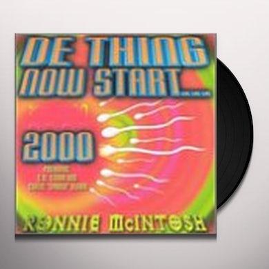 Ronnie Mcintosh DE THING NOW START 2000 Vinyl Record