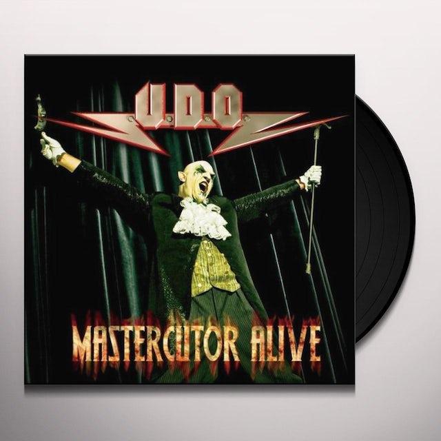 U.D.O. MASTERCUTOR ALIVE Vinyl Record
