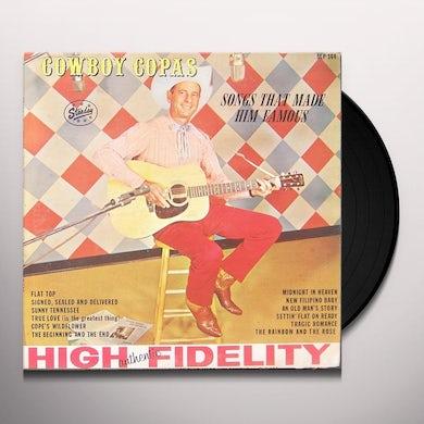 Cowboy Copas BEGINNING & THE END Vinyl Record