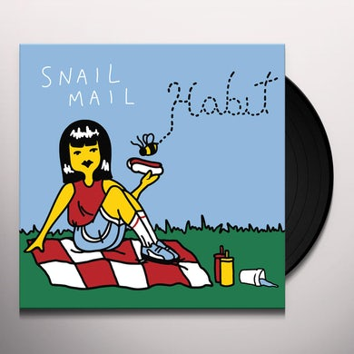 Snail Mail Habit ep Vinyl Record