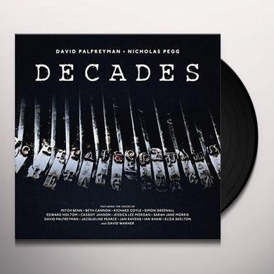 David Palfreyman / Nicholas Pegg DECADES Vinyl Record