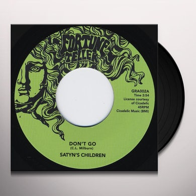Satyn'S Children DON'T GO Vinyl Record