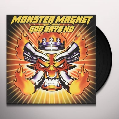 Monster Magnet GOD SAYS NO: DELUXE EDITION Vinyl Record