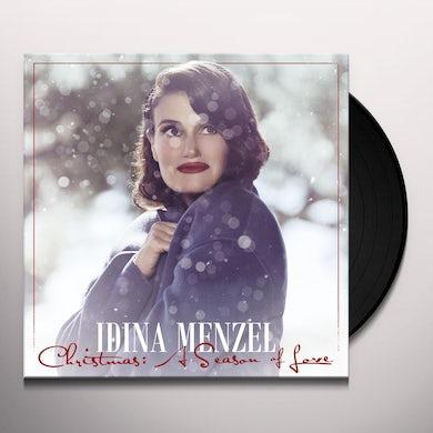Idina Menzel CHRISTMAS: A SEASON OF LOVE Vinyl Record