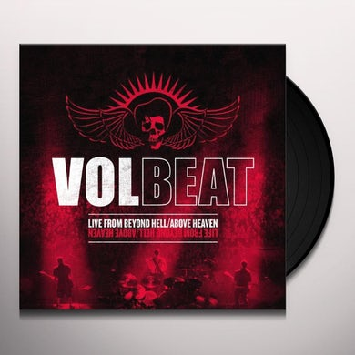 Volbeat LIVE FROM BEYOND HELL / ABOVE HEAVEN Vinyl Record