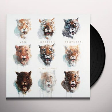 Von Hertzen Brothers NINE LIVES Vinyl Record - Holland Release