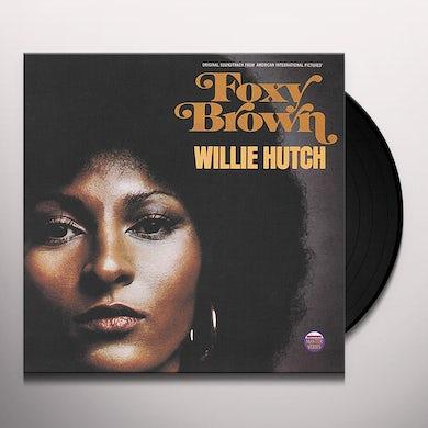 Willie Hutch FOXY BROWN Vinyl Record