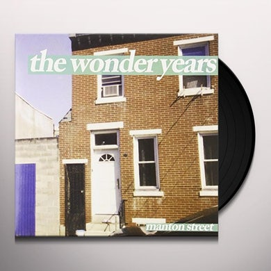 Wonder Years MANTON STREET (ORANGE) Vinyl Record