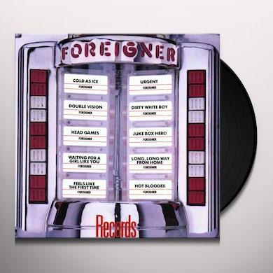 Foreigner RECORDS Vinyl Record