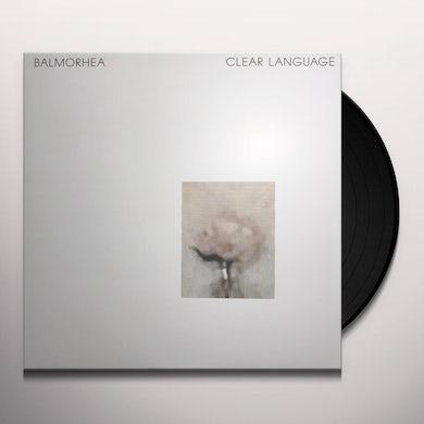 Balmorhea CLEAR LANGAUGE Vinyl Record