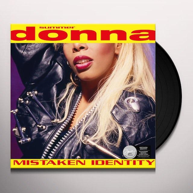 Donna Summer MISTAKEN IDENTITY Vinyl Record