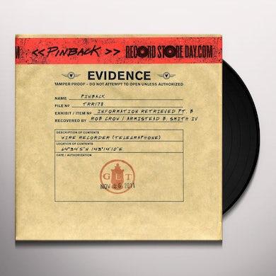 Pinback INFORMATION RETRIEVED PT B Vinyl Record - Limited Edition