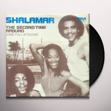 Shalamar SECOND TIME AROUND/DEAD GIVE Vinyl Record