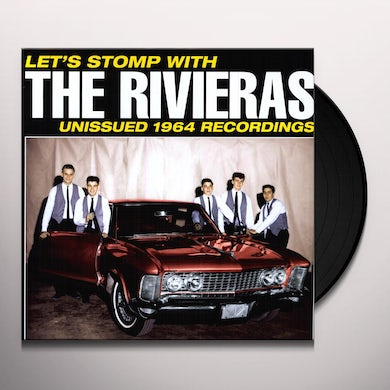 LETS STOMP WITH THE RIVIERAS Vinyl Record