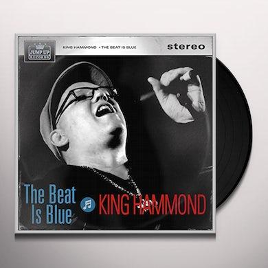 King Hammond BEAT IS BLUE Vinyl Record