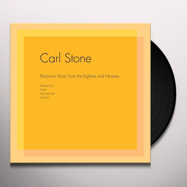 Carl Stone ELECTRONIC MUSIC FROM THE EIGHTIES & NINETIES Vinyl Record