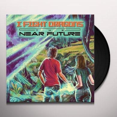 I Fight Dragons The Near Future (LP) (Green w/ Blue Swirl) Vinyl Record