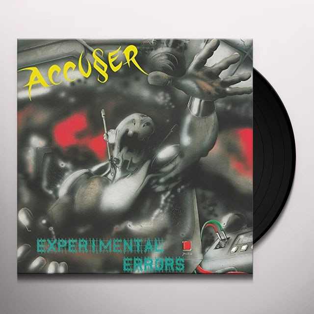 ACCUSER EXPERIMENTAL ERRORS Vinyl Record