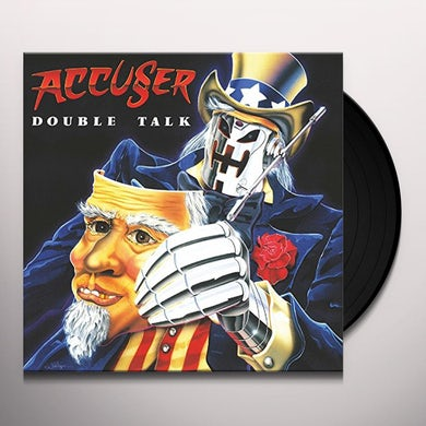 ACCUSER DOUBLE TALK Vinyl Record