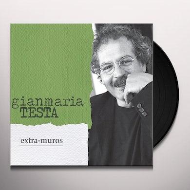 Gianmaria Testa EXTRA MUROS Vinyl Record
