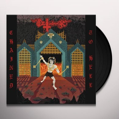 Deathhammer CHAINED TO HELL Vinyl Record