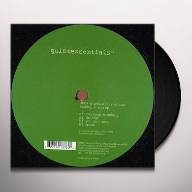 4004 & Sebastien Vorhaus LOOKING AT YOU Vinyl Record