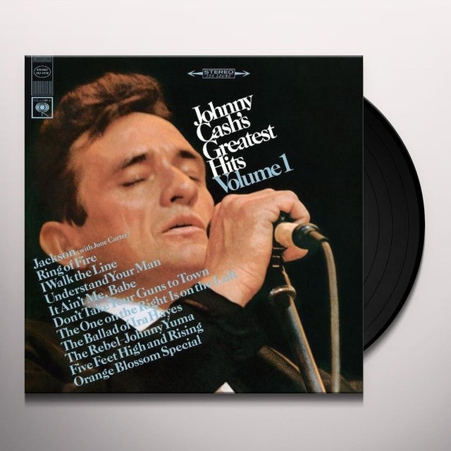 JOHNNY CASH'S GREATEST HITS 1 Vinyl Record
