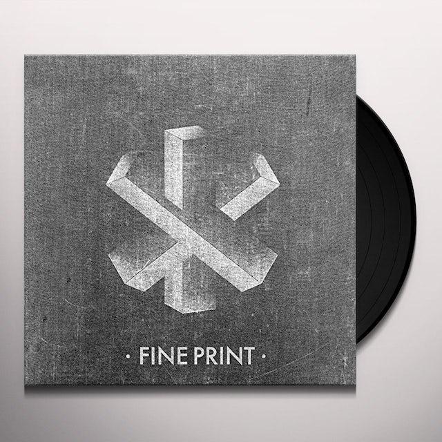 Fine Print Vinyl Record