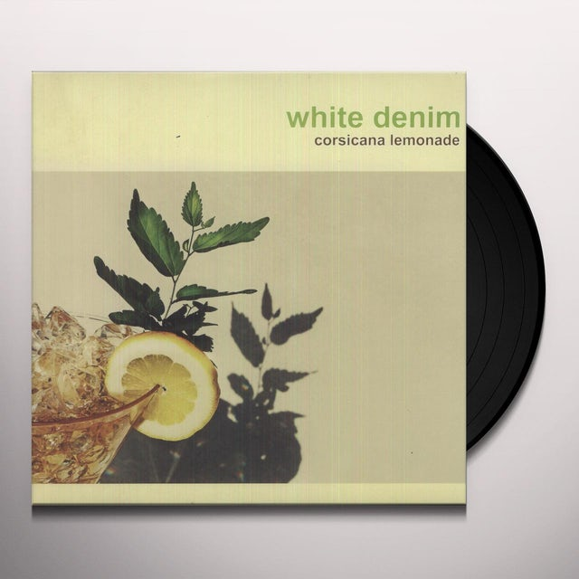 White Denim CORSICANA LEMONADE Vinyl Record