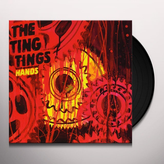 The Ting Tings HANDS / HANDS (PASSION PIT REMIX) Vinyl Record