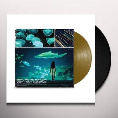 Bring Me The Horizon COUNT YOUR (METALLIC GOLD Vinyl Record