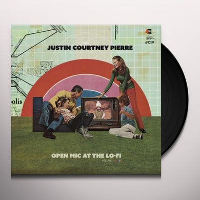 Justin Courtney Pierre  Open Mic At The Lo-Fi Vol. 1 Vinyl Record