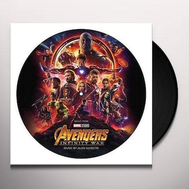 Alan Silvestri Avengers: Infinity War (Original Soundtrack Picture Disc) Vinyl Record