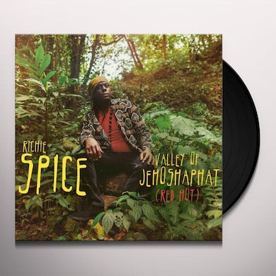 Richie Spice VALLEY OF JEHOSHAPHAT (RED HOT) Vinyl Record