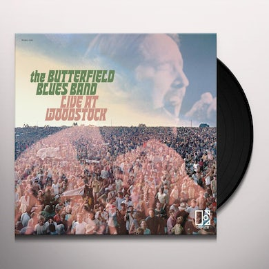 Paul Butterfield Blues Band Live At Woodstock Vinyl Record