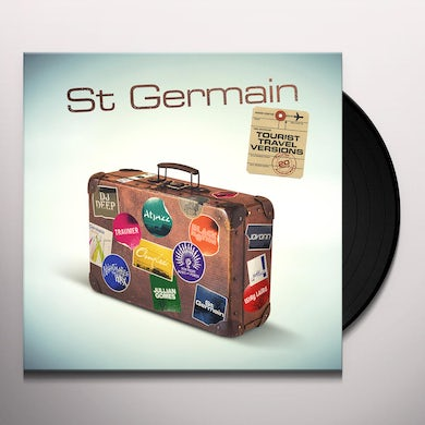 St Germain TOURIST (TOURIST 20TH ANNIVERSARY TRAVEL VERSIONS) Vinyl Record
