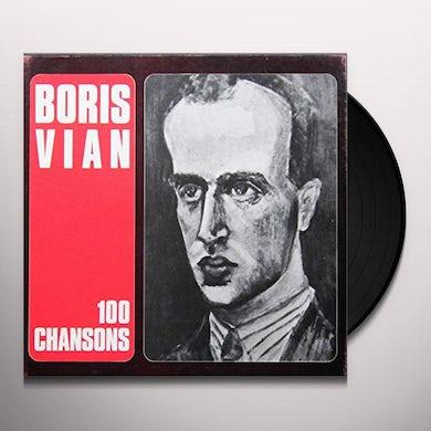 Boris Vian 100 CHANSONS Vinyl Record