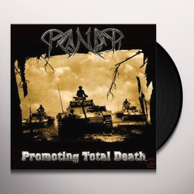 Paganizer PROMOTING TOTAL DEATH Vinyl Record