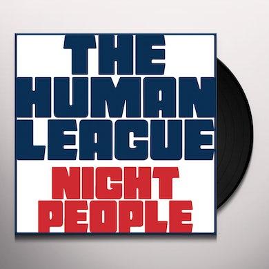 The Human League NIGHT PEOPLE Vinyl Record