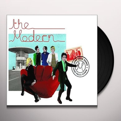 Modern JANE FALLS DOWN Vinyl Record