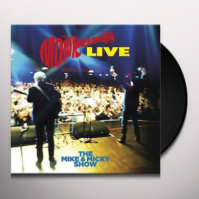 The Monkees The Mike & Micky Show Live Vinyl Record