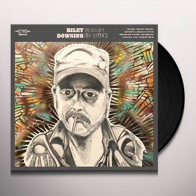 Riley Downing Start It Over (Sea Glass & Turquoise Vin Vinyl Record