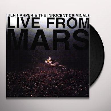 Ben Harper LIVE FROM MARS Vinyl Record