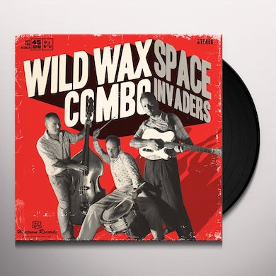 Wild Wax Combo SPACE INVADERS Vinyl Record
