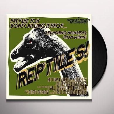 Cherry Overdrive REPTILES Vinyl Record