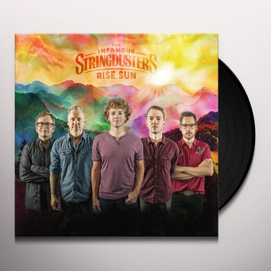 The Infamous Stringdusters RISE SUN Vinyl Record