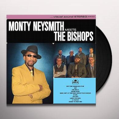 Monty Neysmith MEETS THE BISHOPS Vinyl Record